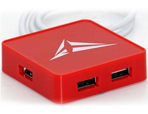 Εικόνα Hub Alcatroz U-HUB S200 4xUSB ports red