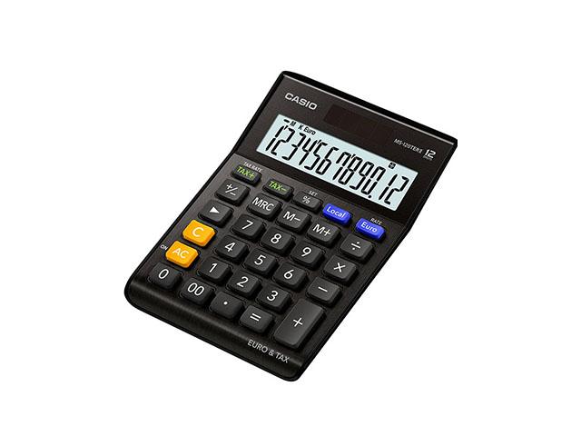 Εικόνα Αριθμομηχανή γραφείου Just Desk Casio MS-120TERIIBK