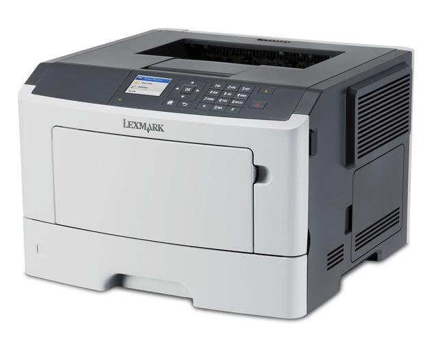 Εικόνα Μονόχρωμος Laser Εκτυπωτής Lexmark MS415dn - Ποιότητα εκτύπωσης 1200x1200 DPI - Ταχύτητα εκτύπωσης 38 ppm - USB, Ethernet