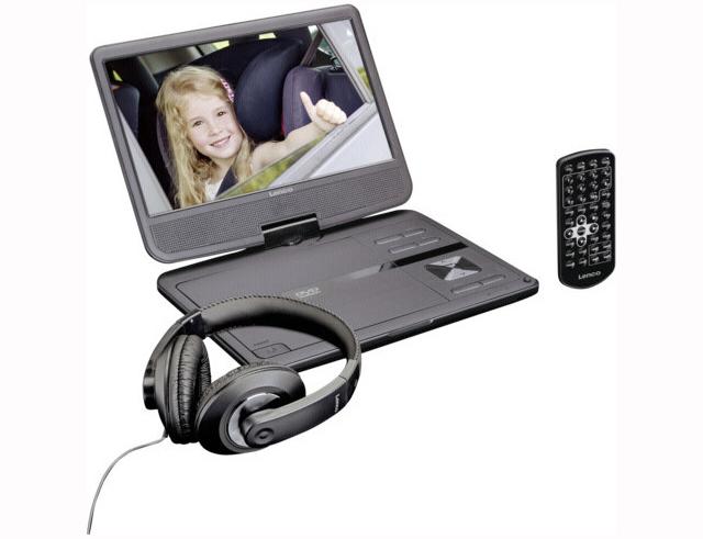 Εικόνα Φορητό DVD Player Lenco DVP-1010BK black