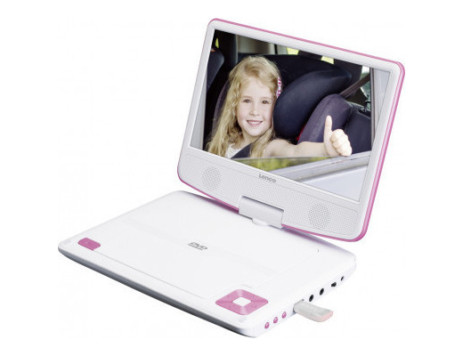 Εικόνα Portable DVD Player Lenco DVP-910 Pink