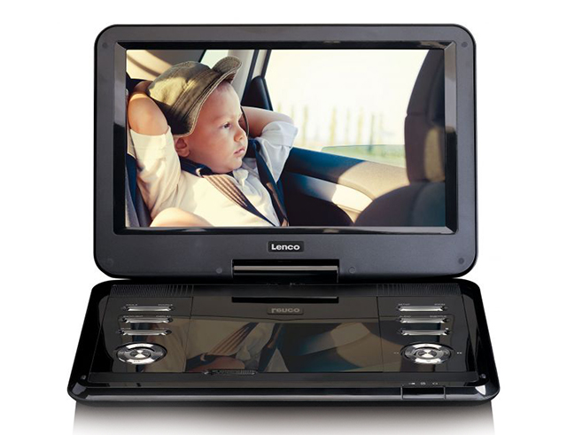 "Εικόνα Dvd player Lenco DVP-1210 12"" black"