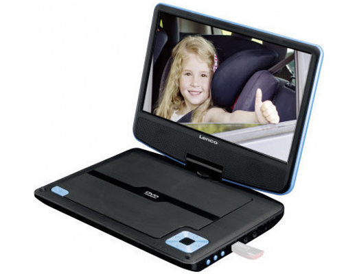 Εικόνα Portable DVD Player Lenco DVP-910 Blue