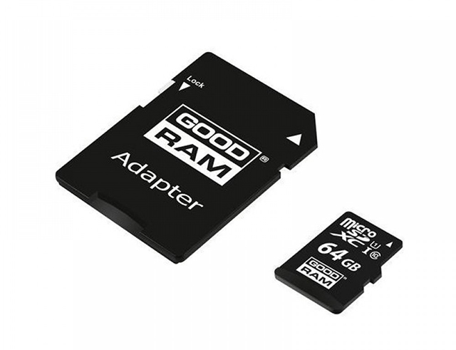 Εικόνα GoodRAM M1AA microSDXC 64GB U1 with Adapter