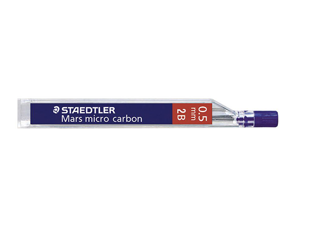 Εικόνα Μύτες μηχανικού μολυβιού Staedtler STAE25005-2B 0,5mm