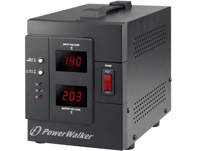 Εικόνα Σταθεροποιητής Τάσης Powerwalker AVR 1500/SIV(PS) 1500VA / 1200W