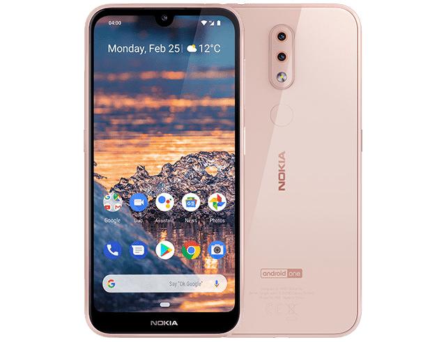 """Εικόνα Smartphone 5.71"""" Nokia 4.2 Dual SIM (32GB) - Pink"""