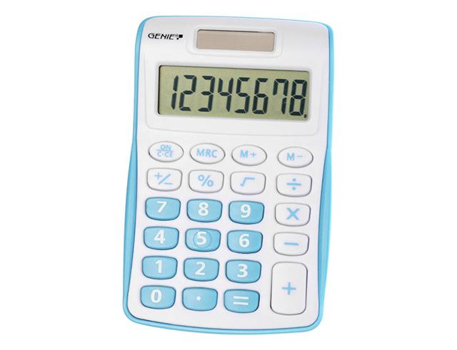 Εικόνα Αριθμομηχανή Genie 120 B μπλε