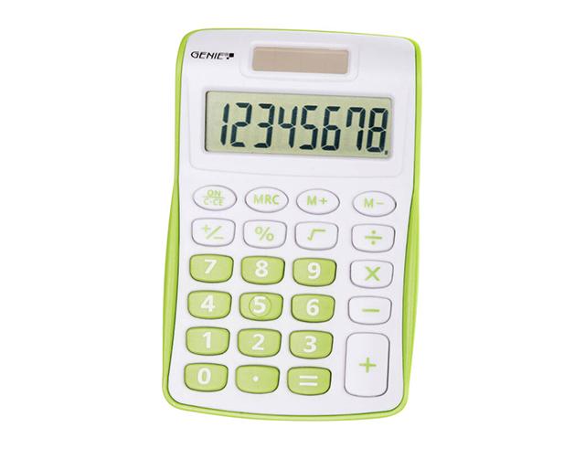 Εικόνα Αριθμομηχανή Genie 120 G πράσινο