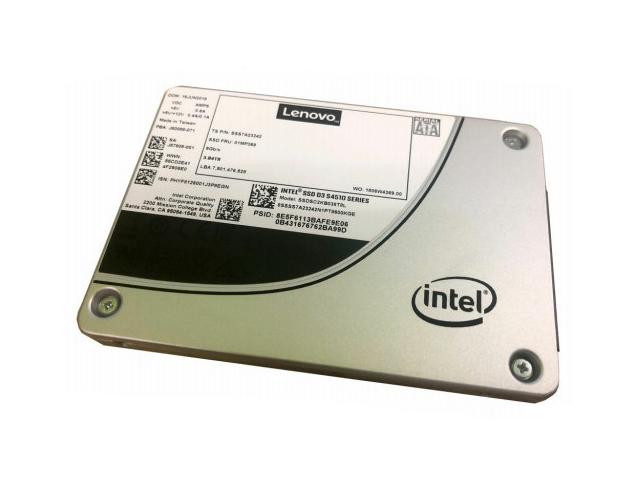 Εικόνα Δίσκος ssd Lenovo ThinkSystem 4XB7A10248 480GB Sata 2.5'' Hot-Swap 6Gbps