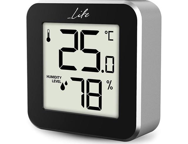 Εικόνα Ψηφιακό θερμόμετρο/υγρόμετρο LIFE Alu Mini