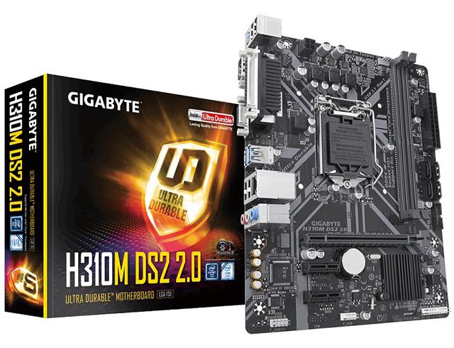 Εικόνα  Μητρική πλακέτα Gigabyte H310M DS2 2.0,1151, MATX