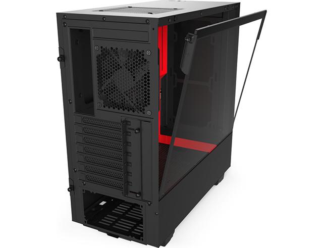 Εικόνα Pc Case NZXT H510 black / red με tempered glass