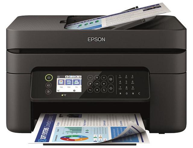 Εικόνα Έγχρωμο Πολυμηχάνημα Epson Workforce WF2850DWF Multifunction Inkjet - Α4 - Εκτύπωση, Σάρωση, Αντιγραφή, Φαξ - 5760 x 1440 dpi - 33ppm - USB 2.0, WiFi