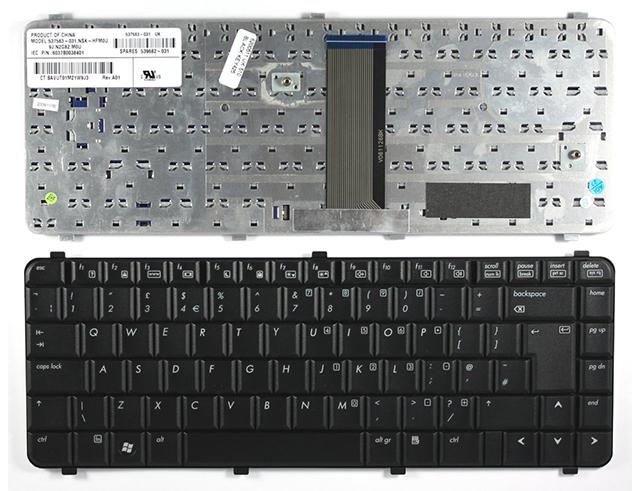 Εικόνα Πληκτρολόγιο 537583-031 για notebook HP 510 / 610 UK