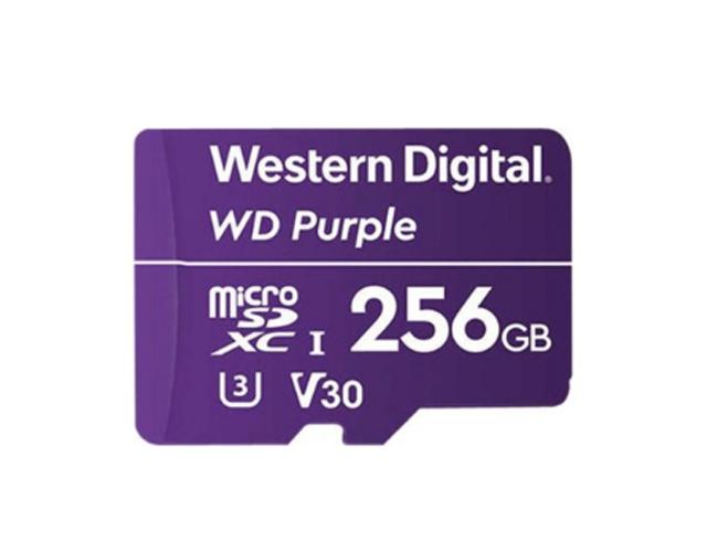 Εικόνα Κάρτα microSD WD Purple WDD256G1P0A, 256GB