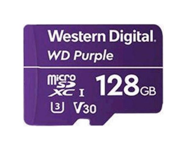 Εικόνα Κάρτα microSD WD Purple WDD128G1P0A, 128GB