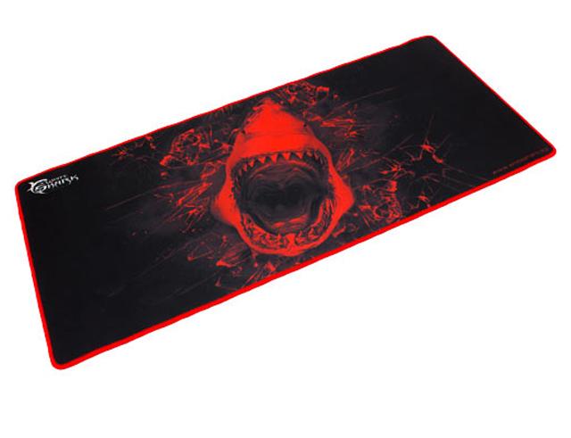 Εικόνα Mouse pad Shark XL white size 80 x 35cm