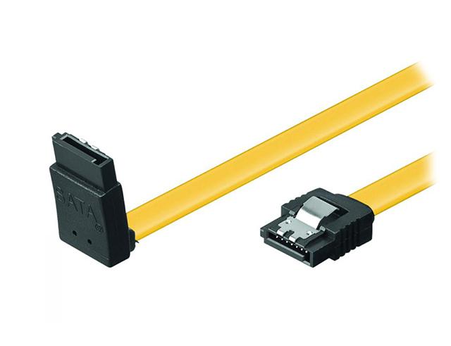 Εικόνα Καλώδιο Powertech CAB-W028 - SATA III L 7-pin σε 7-pin 90° - 0.5m