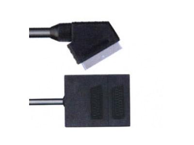 Εικόνα ADAPTOR SCART MALE/2SCART FEM Ρ003