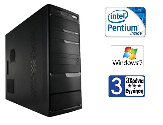 Εικόνα Η/Υ EXPERT PROFESSIONAL Με 4GB Μνήμη, Δίσκο 500GB, Windows 7 και όλα τα απαραίτητα STANDARD για Υψηλή Αξιοπιστία
