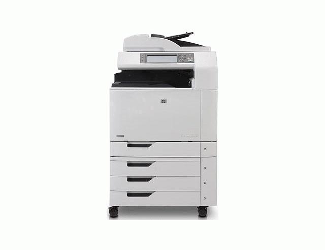 Εικόνα Πολυμηχάνημα Έγχρωμο HP LaserJet CM6040F MFP Q3939A - A3 - Εκτύπωση, Αντιγραφή, Σάρωση, Fax - Ταχύτητα εκτύπωσης 41 ppm
