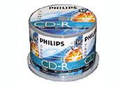 Εικόνα CD ΚΕΝΑ PHILIPS 80min 52x 50ΤΕΜ