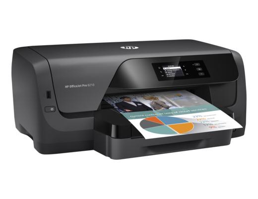 Εικόνα Εκτυπωτής Inkjet HP Officejet Pro 8210