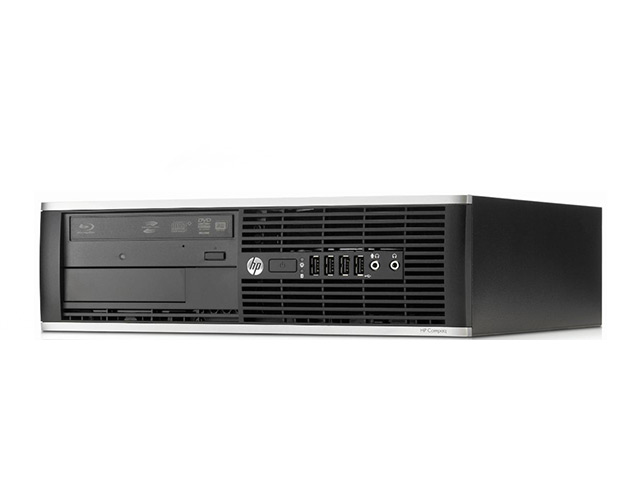 Εικόνα PC HP Elite Compaq 8300 SFF - Intel Core i3 3ης Γενιάς 32xx - 4GB RAM - 500GB HDD - DVD - Windows 7 Professional