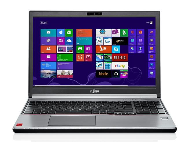"""Εικόνα Fujitsu LifeBook E754 - Οθόνη 15.6"""" - Intel Core i5 4ης Γενιάς 4300m - 8GB RAM - 128GB SSD - DVD RW - Windows 8.1 Pro"""