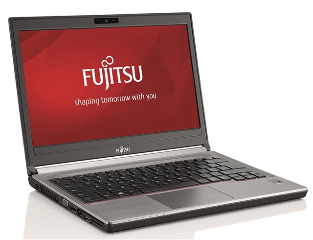 "Εικόνα Fujitsu LifeBook E736 - Οθόνη 13.3"" - Intel Core i3 6ης Γενιάς 61xxU - 4GB RAM - 500GB HDD - DVD - Windows 10 Pro"