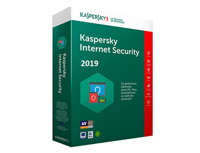 Εικόνα Kaspersky Internet Security Multi Device 2019 - 1 User - 1 Year (Key)