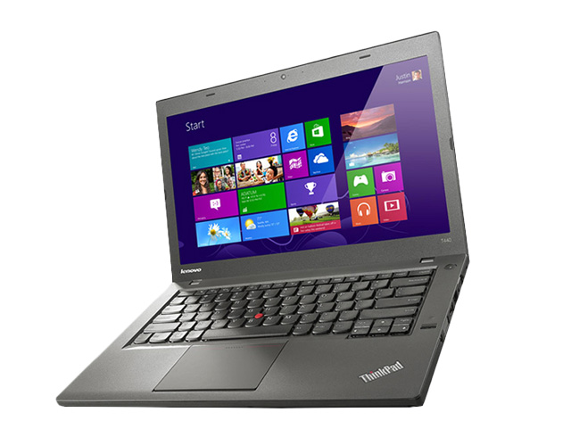 "Εικόνα Lenovo ThinkPad T440 - Οθόνη 14"" - Intel Core i5 4ης γενιάς 43xxU - 4GB RAM - 500GB HDD - Windows 10 Pro"