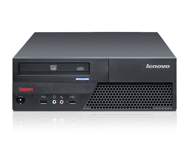 Εικόνα Lenovo ThinkCentre M58P SFF - Intel Core 2 Duo E7500 - 4GB RAM - 500GB HDD - DVD - Windows 7 Professional