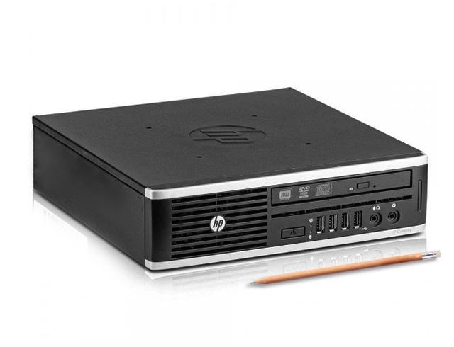 Εικόνα HP Compaq 8200 Elite USFF - Intel Core i5 2ης γενιάς - 8GB RAM - 240GB SSD - DVD - Windows 7 Professional