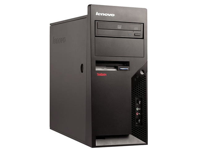 Εικόνα Lenovo ThinkCentre M58 - Intel Core 2 Duo E8500 - 4GB RAM - 128GB SSD - DVD - Windows 7 Professional