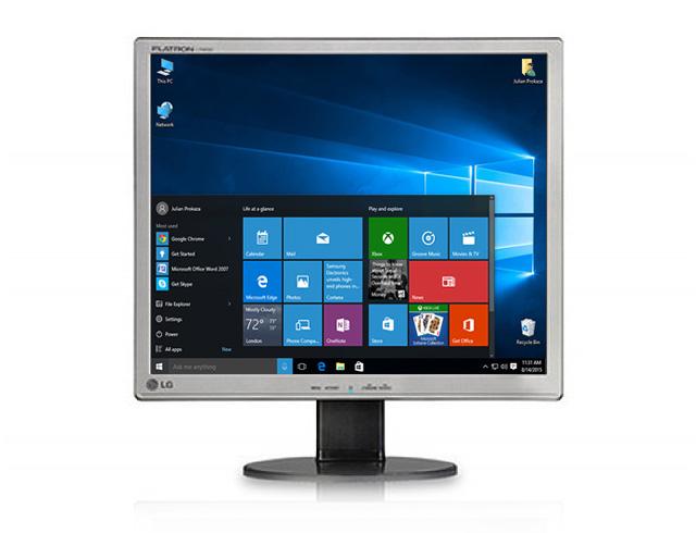 """Εικόνα Monitor 17"""" LG Flatron L1742SE - Ανάλυση 1280 x 1024 - VGA"""