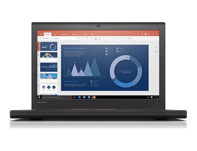 """Εικόνα Lenovo ThinkPad X260 - Οθόνη 12.5"""" - Intel Core i5 6ης γενιάς 6xxx - 8GB RAM - 240GB SSD - Χωρίς οπτικό δίσκο - Webcam - Windows 10 Pro"""