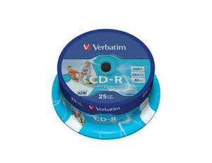 Εικόνα CD-R VERBATIM VER43439 25PK PRINT 700MB